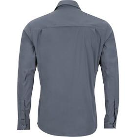 Marmot Trient LS Shirt Men Steel Onyx